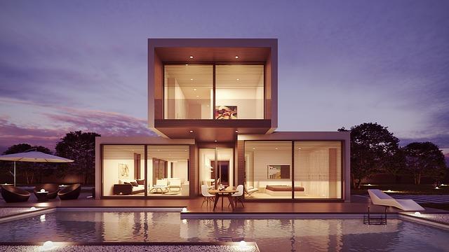 Sklenené prvky a priepustnosť prirodzeného svetla do interiéru