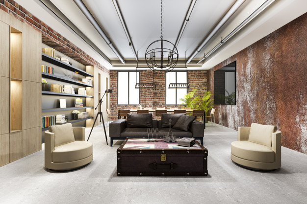 luxury-business-meeting-industrial-style-working-room-executive-office-with-bookshelf_105762-1680